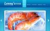 Tema Moto CMS HTML  #45438 per Un Sito di Cibo Surgelato New Screenshots BIG