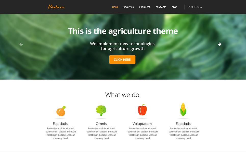 Template Siti Web per Un Sito di Giardinaggio