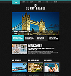 Travel Joomla  Template 45500