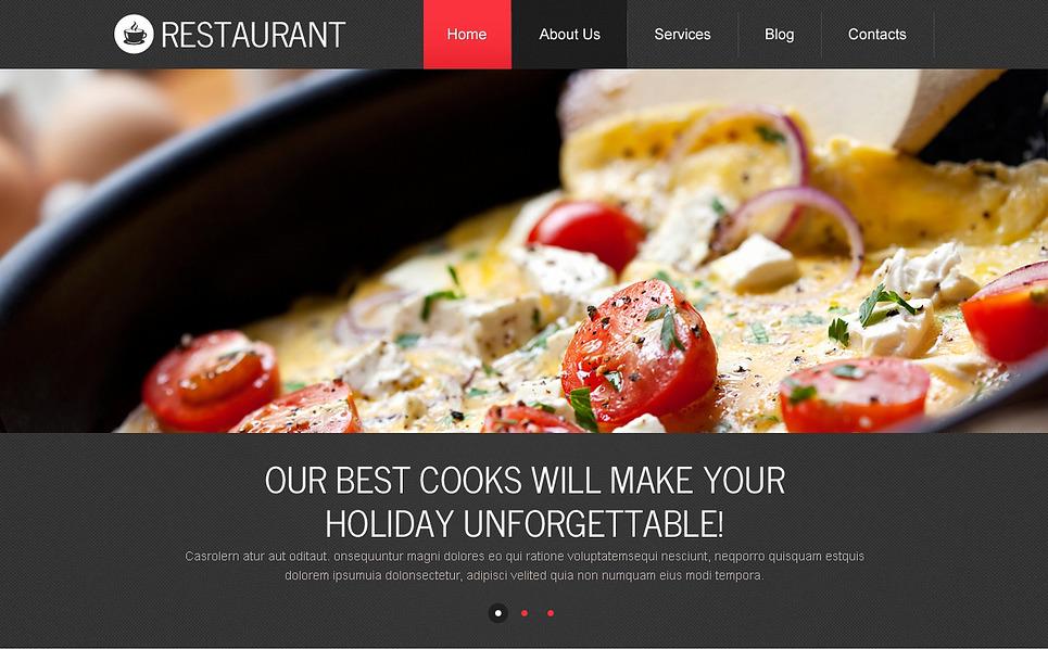 Responsywny szablon Drupal #45519 na temat: kawiarnia i restauracja New Screenshots BIG