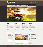 Agriculture Drupal  Template 45520