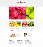 Agriculture Website  Template 45529