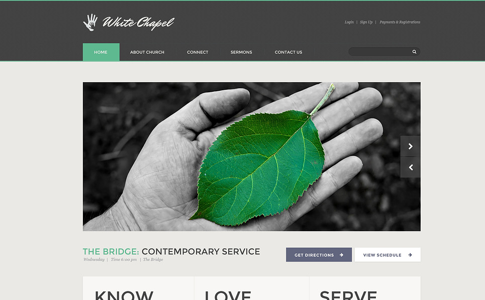 Template Web Flexível para Sites de Caridade №45530 New Screenshots BIG