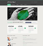 Charity Website  Template 45530