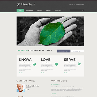 Charity Web Templates | Website Templates