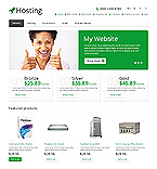 Web Hosting OpenCart  Template 45557