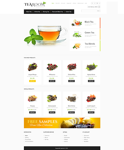 ADOBE Photoshop Template 45558 Home Page Screenshot