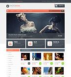 Art & Photography OpenCart  Template 45568