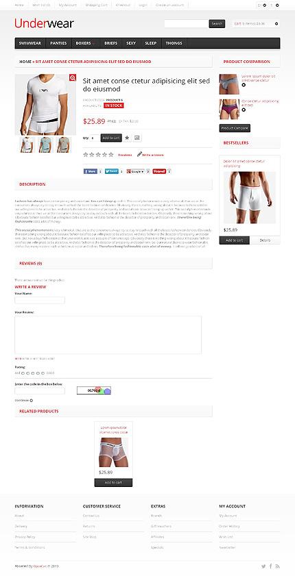 ADOBE Photoshop Template 45569 Home Page Screenshot