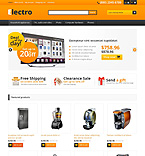 Electronics OpenCart  Template 45570