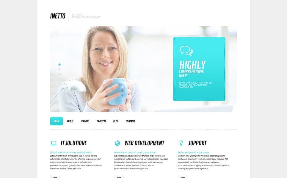 Responsywny motyw WordPress #45577 na temat: Internet New Screenshots BIG