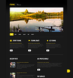 Sport WordPress Template 45578