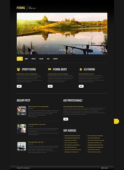 WordPress Theme/Template 45578 Main Page Screenshot