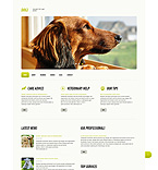 Animals & Pets WordPress Template 45579
