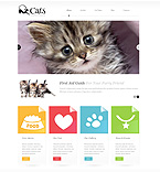 Animals & Pets WordPress Template 45582