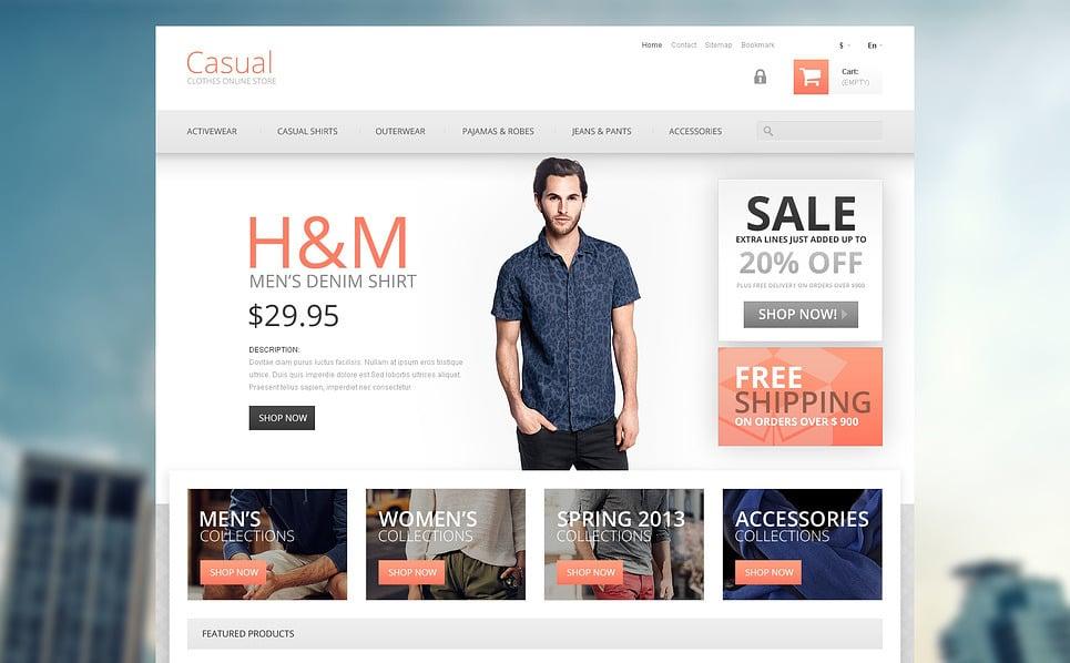 Responsywny szablon PrestaShop #45589 na temat: sklep modowy New Screenshots BIG