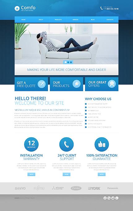 Drupal Template 45592 Main Page Screenshot