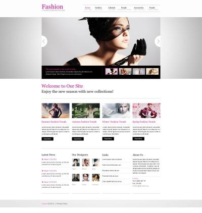 Fashion Responsive Шаблон сайту