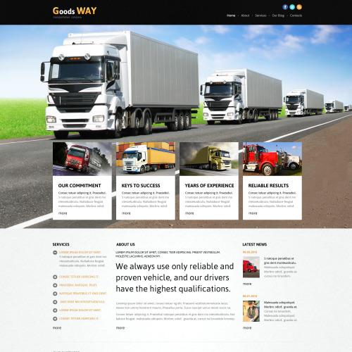 Goods Ways - Joomla! Template based on Bootstrap