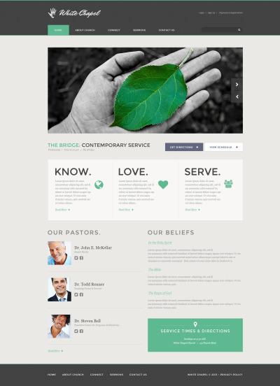 Charity Responsive Template Siti Web