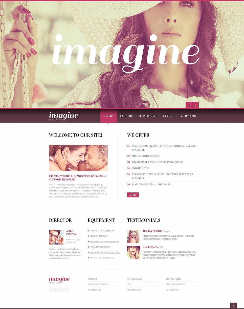 Photography Studio Joomla Template New Screenshots BIG