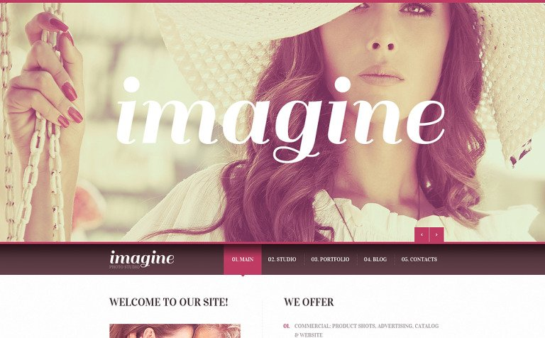 Photography Studio Joomla Template