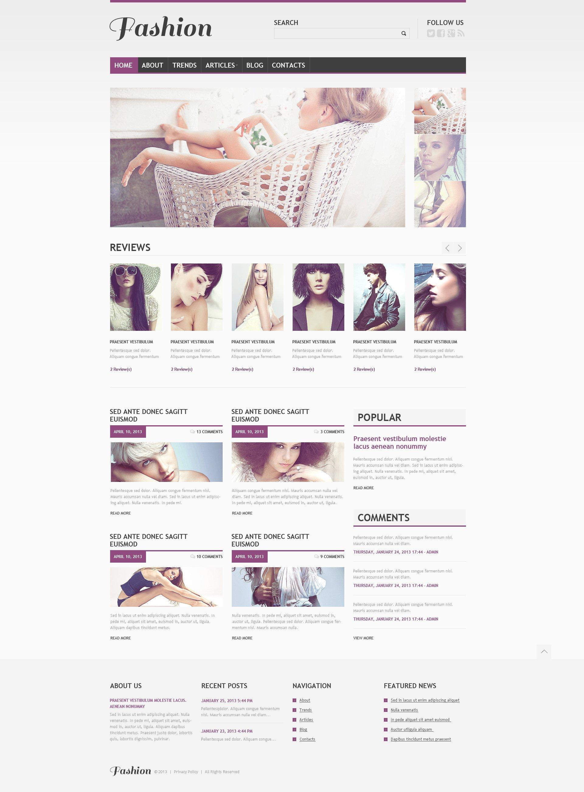 Responsive Beautiful Apparel Wordpress #45548 - Ekran resmi