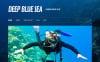 Tema WordPress Responsive #45576 per Un Sito di Diving New Screenshots BIG