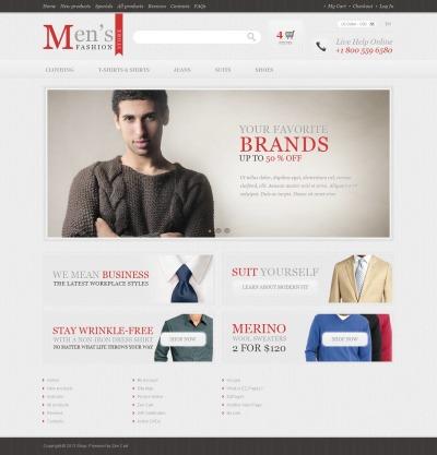 Fashion Store Tema ZenCart