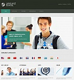 Education Moto CMS HTML  Template 45604