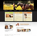 Animals & Pets Moto CMS HTML  Template 45606