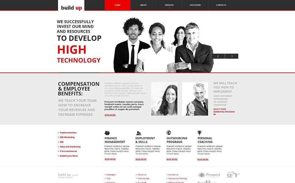 MotoCMS HTML шаблон на тему seo сайти New Screenshots BIG
