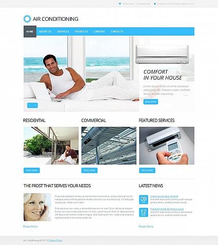 ADOBE Photoshop Template 45619 Home Page Screenshot