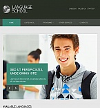 Education Facebook HTML CMS  Template 45624