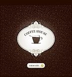Cafe & Restaurant Facebook HTML CMS  Template 45633