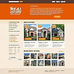 Real Estate Flash CMS  Template 45644