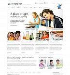 Education Flash CMS  Template 45647