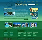 Travel Flash CMS  Template 45648