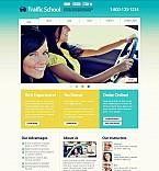 Education Flash CMS  Template 45651