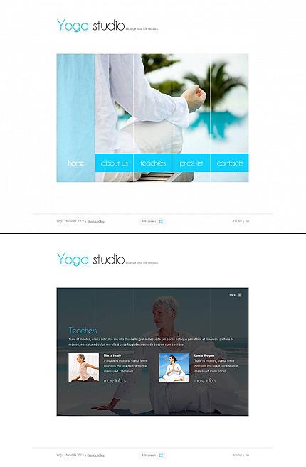 ADOBE Photoshop Template 45652 Home Page Screenshot