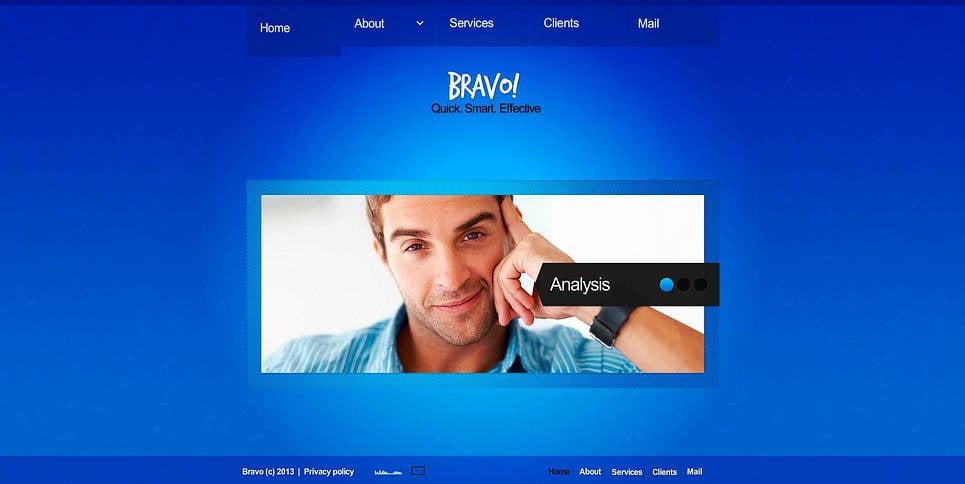 Szablon Flash CMS #45654 na temat: agencja marketingowa New Screenshots BIG