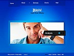 Flash CMS  Template 45654
