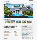 Real Estate Flash CMS  Template 45655