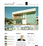 Real Estate Flash CMS  Template 45657