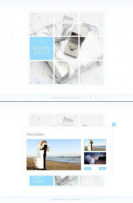 ADOBE Photoshop Template 45658 Home Page Screenshot