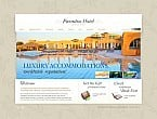 Hotels Flash CMS  Template 45663