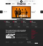 Web design Flash CMS  Template 45665