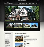Real Estate Flash CMS  Template 45667