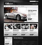 Cars Flash CMS  Template 45669