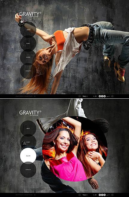 ADOBE Photoshop Template 45672 Home Page Screenshot